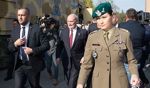 """Pierwsza kobieta generał w polskiej armii? """"Musi zdobyć doświadczenie bojowe"""""""