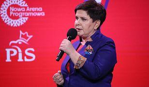 Beata Szydło zapowiedziała zmiany w 500+ na konwencji PiS