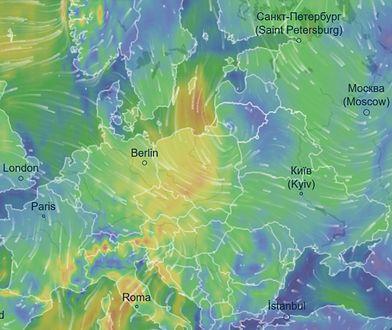 Pogoda na 25 marca. Do Polski napływa niż znad Atlantyku