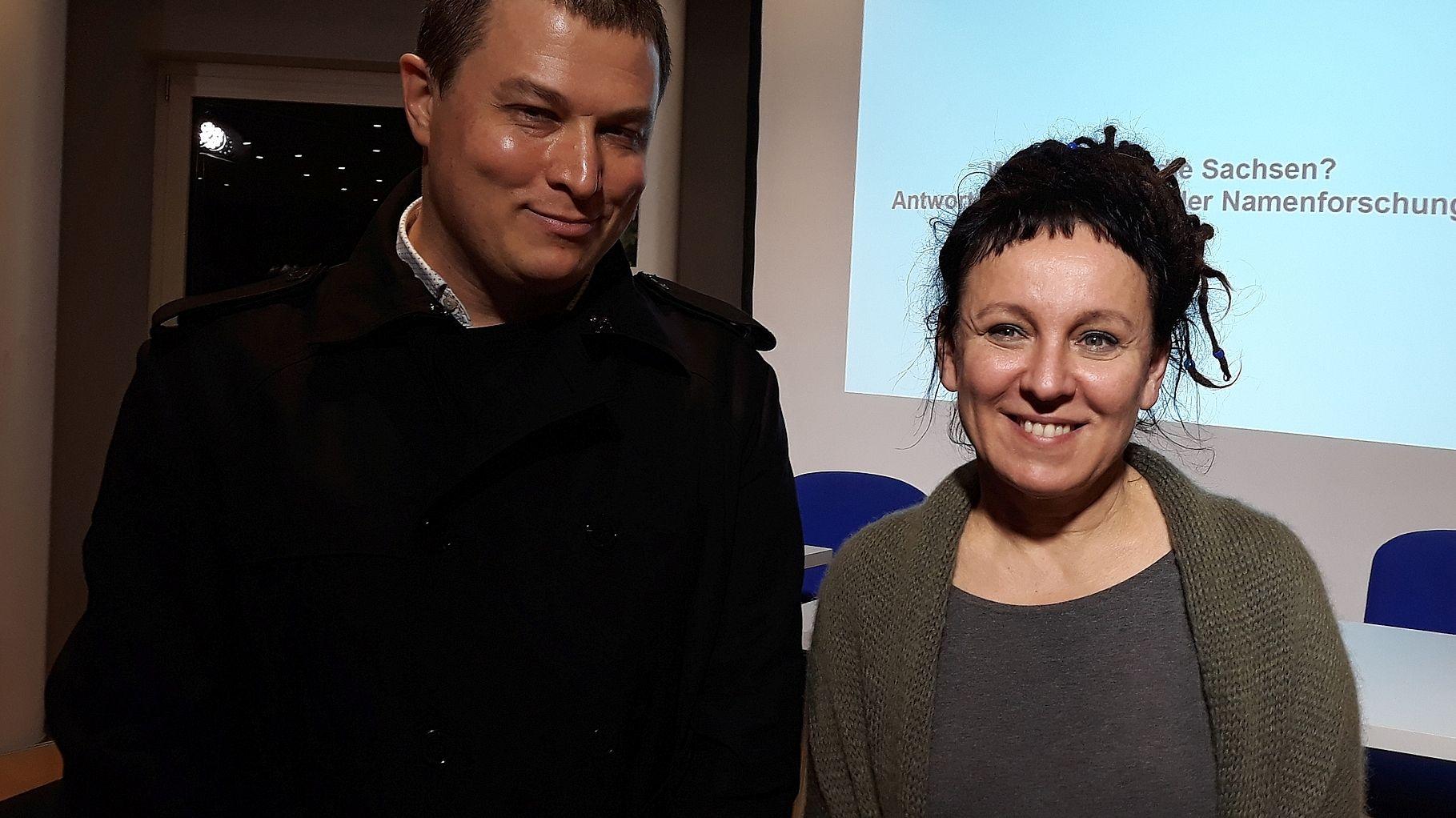 Olga Tokarczuk w pierwszym wywiadzie po Nagrodzie Nobla: Dziś będę celebrować