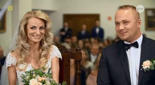 """Anita Szydłowska i Adrian Szymaniak wzięli ślub w programie TVN """"Ślub od pierwszego wejrzenia"""""""
