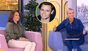 """Żarty z Sasina w studiu """"Dzień dobry TVN""""."""