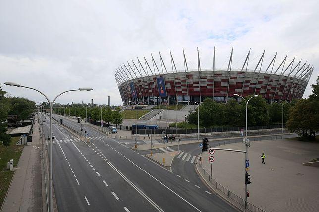 Mecz Polska - Armenia na PGE Narodowym. Zamknięte ulice