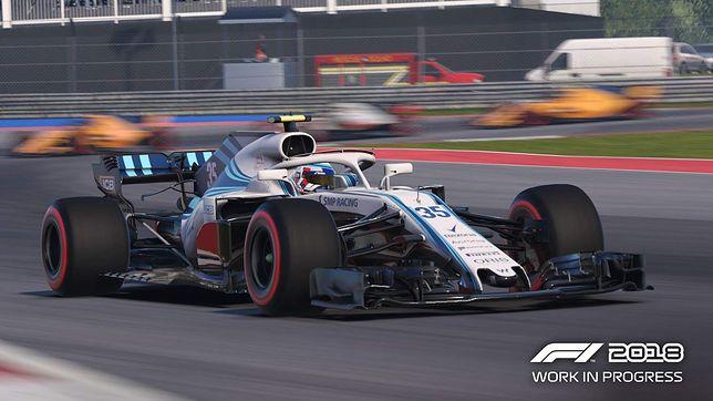 """""""F1 2018"""" zachwyca grafiką i miażdży trudnością"""