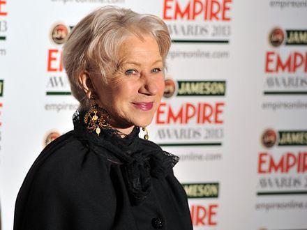 Helen Mirren chce więcej kobiet reżyserek