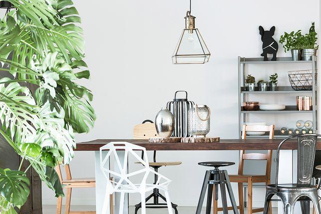Styl industrialny – jadalnia dla minimalistów
