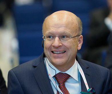 Prezes Trybunału Sprawiedliwości Unii Europejskiej prof. Koen Lenaerts
