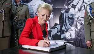 Pierwsza dama w Muzeum Wojska Polskiego