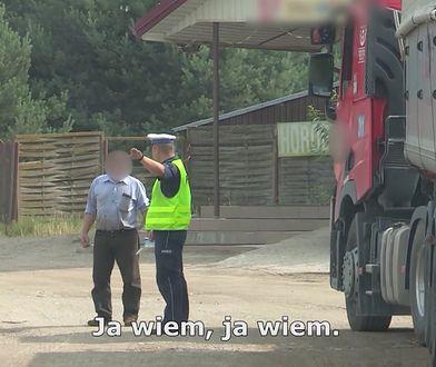 Zatrzymali ciężarówkę do kontroli. Nie spodziewali się takiego zakończenia