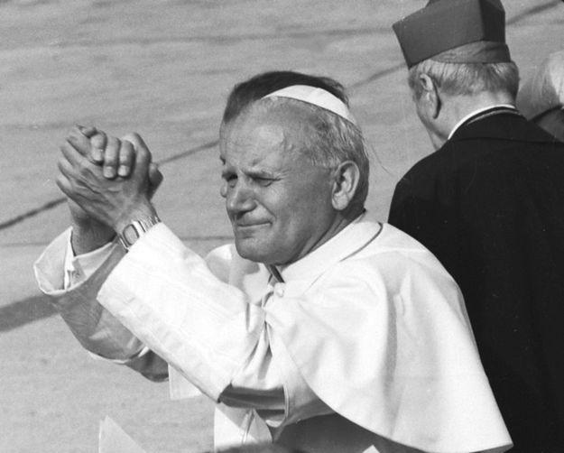 Kraków, kwiecień 1979r. Wizyta papieża Jana Pawła II w Polsce