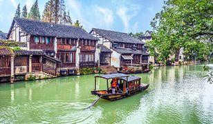 Wuzhen to stare, liczące 60-tys. mieszkańców miasteczko ze starochińską architekturą