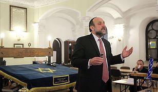 Naczelny rabin: odmowa zwrotu własności - niemoralna