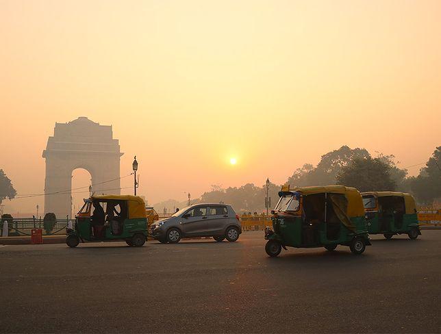 Delhi w oparach smogu