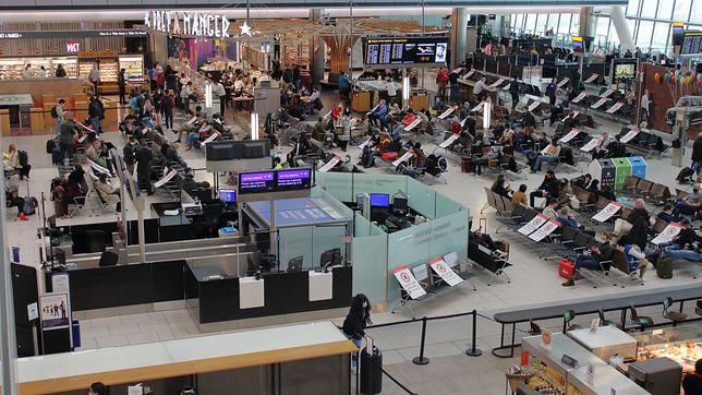 Lotnisko Heathrow, zdjęcie ilustracyjne