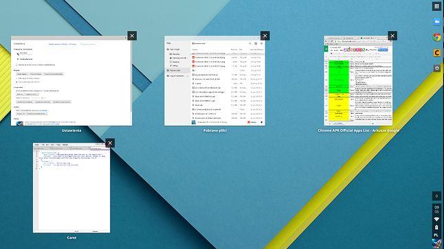 Jak widać, Chrome OS to już nie tylko przeglądarka