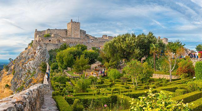 Zamek w Portalegre, Portugalia