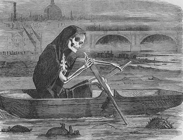 Gdy wiatr zmieniał kierunek, fetor rzeki powodował u londyńczyków gwałtowne torsje i wymioty, nad którymi nie mogli zapanować