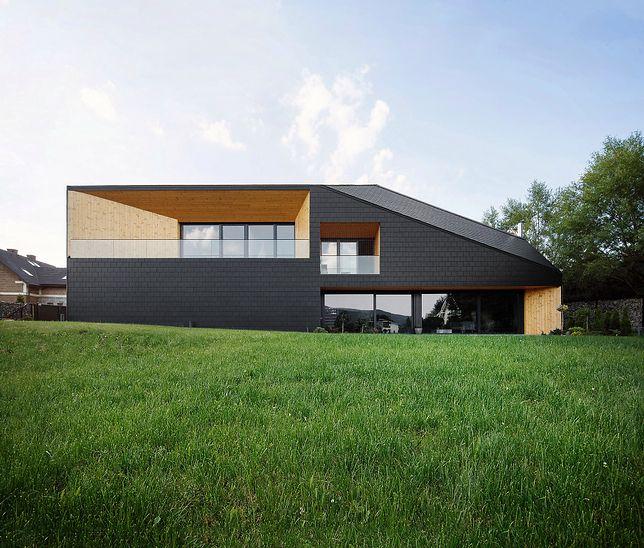 Czarna Skała. Dom inspirowany górskim krajobrazem