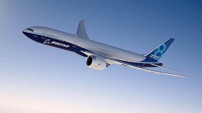 777X będzie największym pasażerskim samolotem dwusilnikowym
