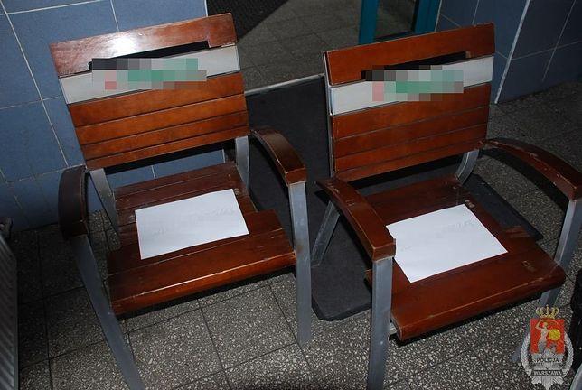 Byli zmęczeni, więc... ukradli krzesła