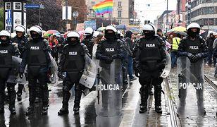 Wrocław. Marsz Równości z policyjną obstawą