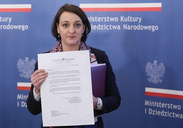 Magdalena Gawin otrzymała oficjalny list ws. dokumentów