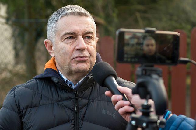 Policja zatrzymała w środę Władysława Frasyniuka.