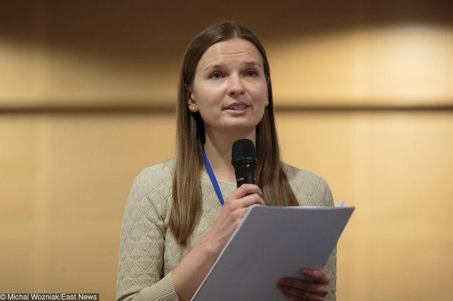 Ludmiła Kozłowska przebywa w Niemczech, gdzie opowie o łamaniu praworządności w Polsce