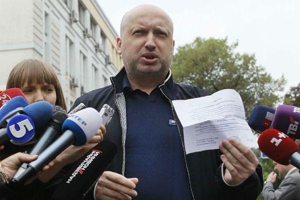Ołeksandr Turczynow, p.o. prezydenta Ukrainy