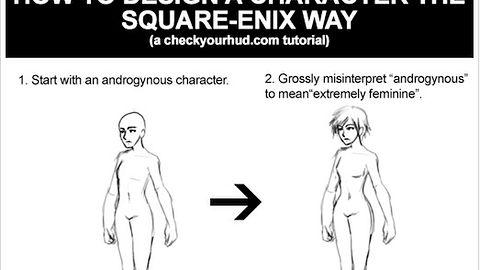 Jak stworzyć bohatera gry Square Enix?