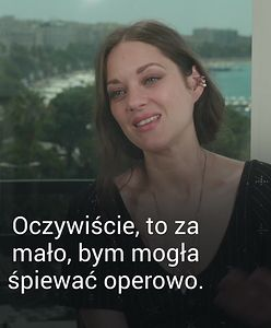 Marion Cotillard nie spodziewała się tego pytania. Polski dziennikarz wprawił ją w zakłopotanie