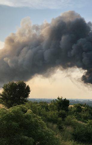 Pożar w Gdańsku-Oruni wybuchł nad ranem