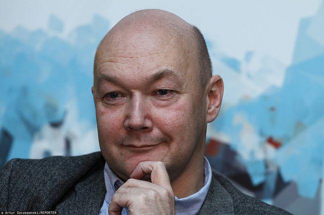 Wojciech Orliński, autor, dziennikarz, nauczyciel chemii