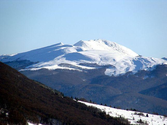 W górach panują już warunki zimowe. Tarnica zimą