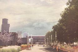 Ogród w centrum miasta. Tak zmieni się teren przed Pałacem Kultury