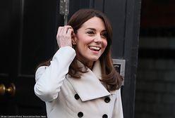 Księżna Kate promuje swoją książkę. Nietypowa akcja na ulicach Londynu