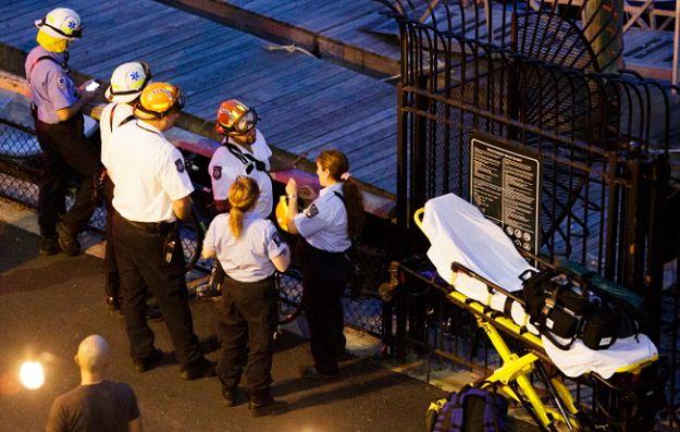 Samolot spadł do rzeki na wysokości 79 Ulicy na Manhattanie