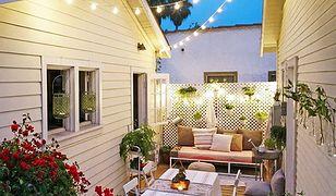 Maleńki dom w garażu. Przytulny i z ogrodem