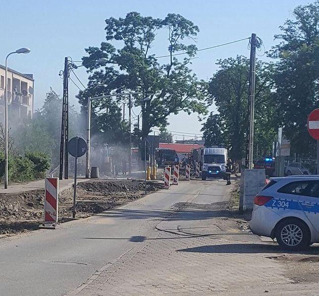 Uszkodzony gazociąg w Świnoujściu (zdjęcie ilustracyjne)