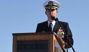 Koronawirus na świecie. U dowódcy amerykańskiego lotniskowca USS Theodore Roosevelt potwierdzono zakażenie