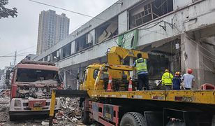 Chiny. Tragiczny wybuch gazu na osiedlu mieszkaniowym