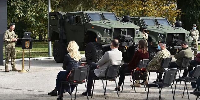 Czarnogóra otrzymała pojazdy JLTV od USA