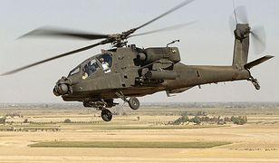 Amerykańskie śmigłowce AH-64 Apache wylądowały w Polsce. Odwiedziło nas 13 takich maszyn