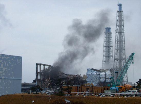 Tak wysokiej fali nie przewidzieli projektanci elektrowni