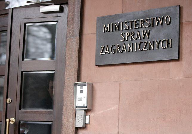 Pracownicy MSZ będą musieli poddać się weryfikacji