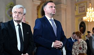 Jan Piekło z prezydentem Andrzejem Dudą