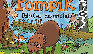 Żubr Pompik. Polinka zaginęła. 12 kartonowych stron z okienkami