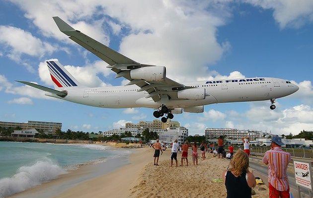 Najbardziej ekstremalne lotnisko