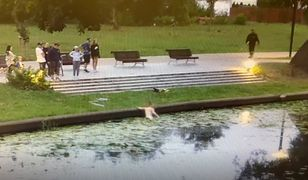 Kobieta uratowała koty wyrzucone do rzeki w plastikowym worku