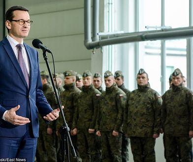 """Morawiecki o wojskach NATO w Polsce. """"To marzenie Lecha Kaczyńskiego"""""""